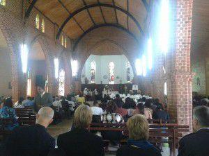Iglesias de Malawi reciben al CMI y ACT (Milton Mejia)