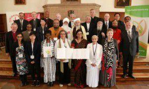 Los participantes de la Cumbre Interreligiosa sobre el Cambio Climático, en Nueva York (WCC Melissa Engle Hess)