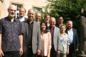Participantes de la reunión del Foro Cristiano Mundial en Estrasburgo. FCM