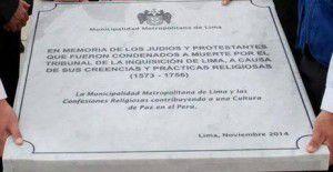 placa en Lima