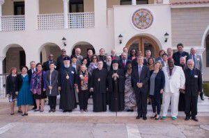 El Comité Ejecutivo del CMI reunido en Paralimni, Chipre ( WCC Charis Vrahimis)