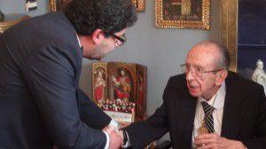 Beltran recibe medalla en Bolivia (Aguirre Alvis)