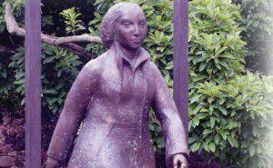 Estatua de Catharina von Bora, esposa de Martín Lutero en Wittenberg  (LWFE. Neuenfeldt)