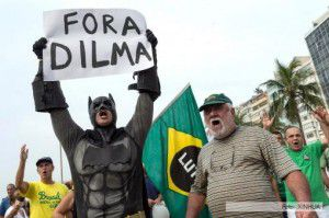 Manifestaciones en Brasil (Xinhua)