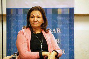 Gloria Ulloa en reunión con organismos en CAREF