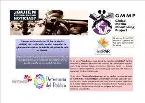 Invitación Presentación Monitoreo de Medios 2015