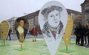 Exposición sobre Martín Lutero en Alemania. (Foto: EFE)