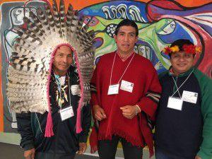 Líderes indígenas en CIDH (repam)