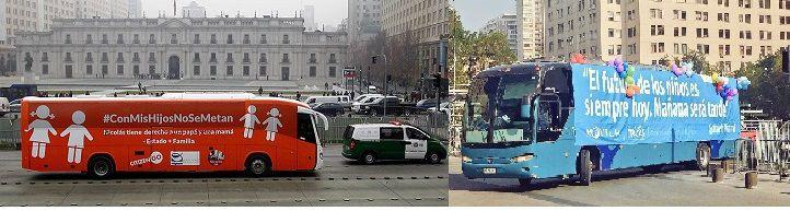 Buses en Chile