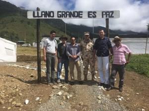 Delegación IPC y PCUSA en Llanos, Colombia (d.Higuita)