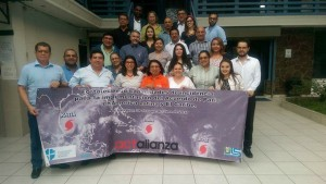 Participantes taller cambio climático e incidencia