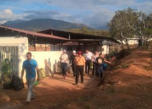 Visita Peregrinaje de Justicia y Paz CMI al ETCR Simón Trinidad (C.Florentin)