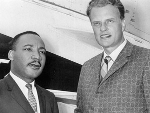 Graham con M. Luther King Jr (NY Time)